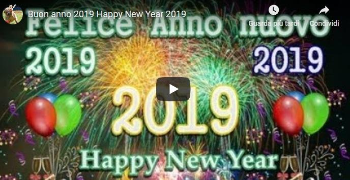 VIDEO di Auguri Buon Anno Nuovo – Capodanno
