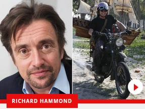 Richard Hammond noto presentatore di Top Gear – ha avuto un incidente