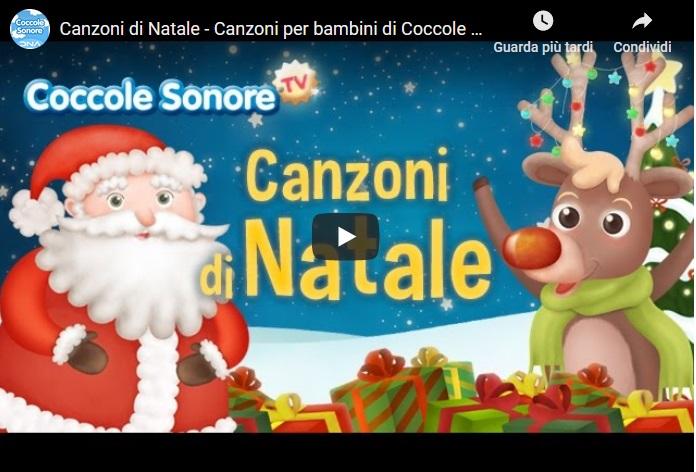 Video e Canzoni di Auguri di Buon Natale