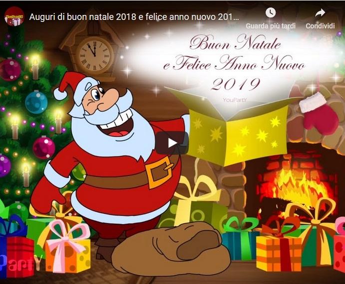 Video Auguri di Buon Natale