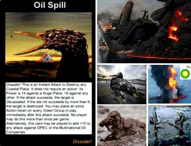Profezia: Fuoriuscita di Petrolio